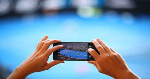 Does staring at your mobile phone damage your eyes?